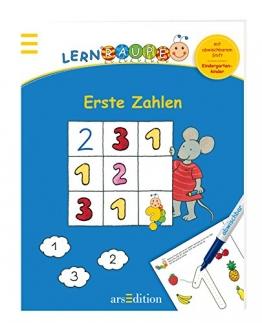 Lernraupe - Erste Zahlen: Mit abwischbarem Stift - 1