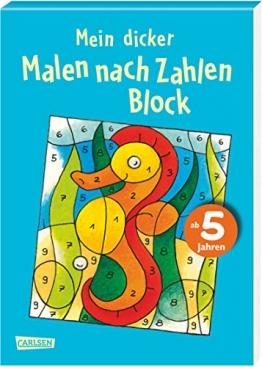 """Mein dicker """"Malen nach Zahlen"""" Block - 1"""