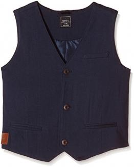 NAME IT Jungen Anzugjacke NITPOKTAV K JERSEY WAISTCOAT 615, Einfarbig, Gr. 134 (Herstellergröße: 134-140), Blau (Dress Blues) - 1