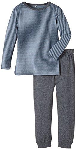NAME IT Jungen Zweiteiliger Schlafanzug 13111104, Gr. 110, Grau (Dark Grey Melange) - 1