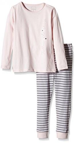 NAME IT Mädchen Zweiteiliger Schlafanzug NITNIGHTSET K G NOOS, Gestreift, Gr. 152, Mehrfarbig (Ballerina) - 1