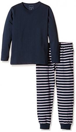 NAME IT NITNIGHTSET TOMATO K B NOOS, Jungen, Navy Blau (Blue/white/red stripped), 152 - 1