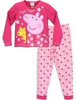 Peppa Pig Mädchen Peppa Pig Schlafanzug 104 - 1