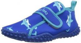 Playshoes Aquaschuhe, Badeschuhe Hai mit höchstem UV-Schutz nach Standard 801 174773, Jungen Dusch- & Badeschuhe, Blau (original 900), EU 24/25 - 1