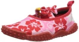 Playshoes Aquaschuhe, Badeschuhe Hawaii, UV-Schutz nach Standard 801 174769, Mädchen Dusch- & Badeschuhe, Pink (original 900), EU 32/33 - 1
