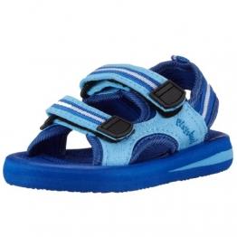 Playshoes EVA Sandalen 171781, Jungen Sandalen, Blau (blau 7), EU 22/23 - 1