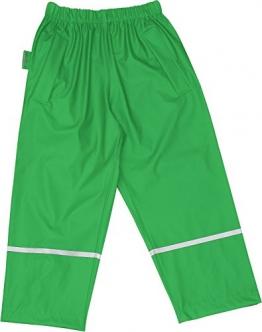 Playshoes Mädchen Regenhose Kinder Buddelhose, Matschhose ohne Latz, Gr. 86, Grün (grün 29) - 1