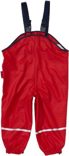 Playshoes Regenlatzhose Textilfutter 405514 Unisex - Kinder Hosen/ Lang, Gr. 140 Rot (rot 8) - 1