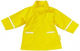 Playshoes Unisex - Kinder Regenmantel 408638, Gr. 104, Gelb (12 gelb) - 1