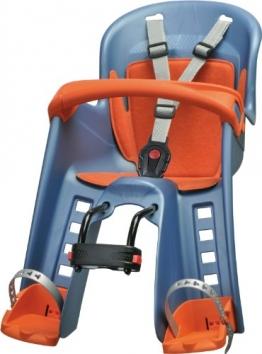 Polisport Kinder Fahrrad-Kindersitz, blau, 61009700 - 1