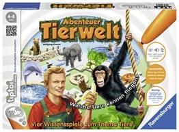 """Ravensburger 00513 - tiptoi Spiel Abenteuer Tierwelt"""" - 1"""