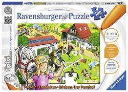 """Ravensburger 00518 - tiptoi Puzzeln, Entdecken, Erleben: Der Ponyhof"""" - 1"""