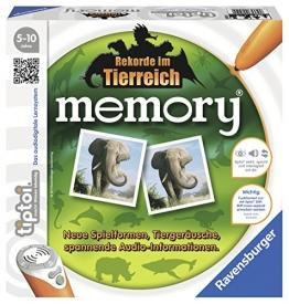 Ravensburger 00519 tiptoi: memory® Rekorde im Tierreich - 1