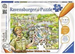 """Ravensburger 00524 - tiptoi Puzzeln, Entdecken, Erleben: Im Zoo"""" - 1"""
