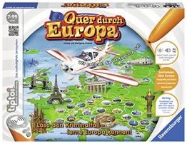 """Ravensburger 00579 - tiptoi Spiel Quer durch Europa"""" - 1"""