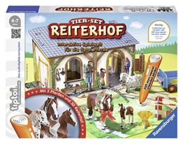 "Ravensburger 00707 - tiptoi Tier-Set Reiterhof"" - 1"