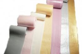 Schleifenband / Tortenband essbar 1m silber - 1