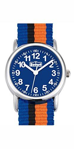 Scout Jungen-Armbanduhr Analog Quarz Textil 280304005 - 1