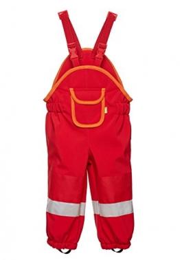Softshell-Matschhose PREMIUM für Kleinkinder von be baby! (Wassersäule: 10.000 mm), rot, Gr. 110-116 - 1