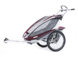 Thule Cx1 Multi-Anhänger für Kinder (Radfahren, Jogging, Burgunderrot - 1