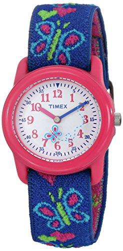Timex Mädchen-Armbanduhr Analog Textil T89001 - 1