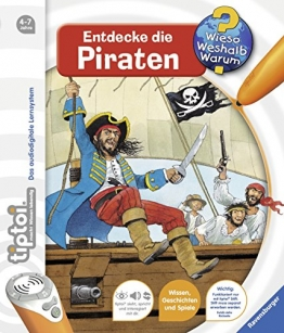 tiptoi® Entdecke die Piraten (tiptoi® Wieso? Weshalb? Warum?, Band 7) - 1