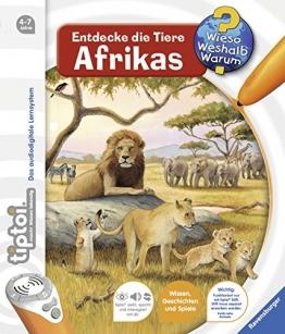 tiptoi® Entdecke die Tiere Afrikas (tiptoi® Wieso? Weshalb? Warum?, Band 9) - 1