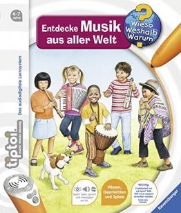 tiptoi® Entdecke Musik aus aller Welt (tiptoi® Wieso? Weshalb? Warum?, Band 16) - 1