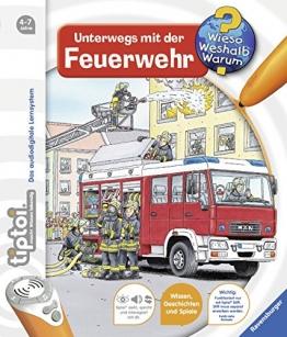 tiptoi® Unterwegs mit der Feuerwehr (tiptoi® Wieso? Weshalb? Warum?, Band 6) - 1