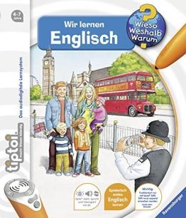 tiptoi® Wir lernen Englisch: Mit über 1.500 Sounds (tiptoi® Wieso? Weshalb? Warum?, Band 5) - 1