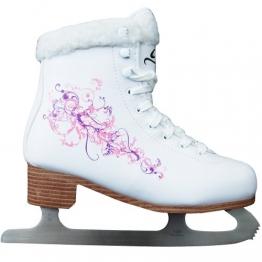 Cox Swain Figur Damen + Kinder Eiskunstlauf Schlittschuh Flower - alle Größen, Größe: 38 - 1