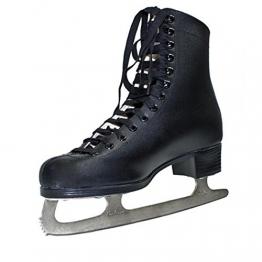 Schlittschuhe Eiskunstlauf Gr. 32 34 35 schwarz Kinder Jungen Ice Skates - 1