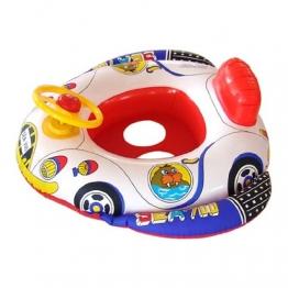 Babyboot Badeboot Schwimmsitz Schwimmreifen Kinderboot Gummiboot Schwimmflügel - 1