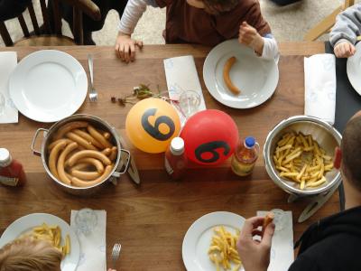 einfaches essen Kindergeburtstag