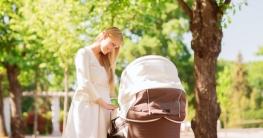 Luxus Kinderwagen für wohlhabende Eltern